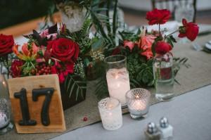 DIY テーブルデコレーション ロマンチック