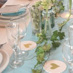DIYウェディングのテーブルアレンジ指導